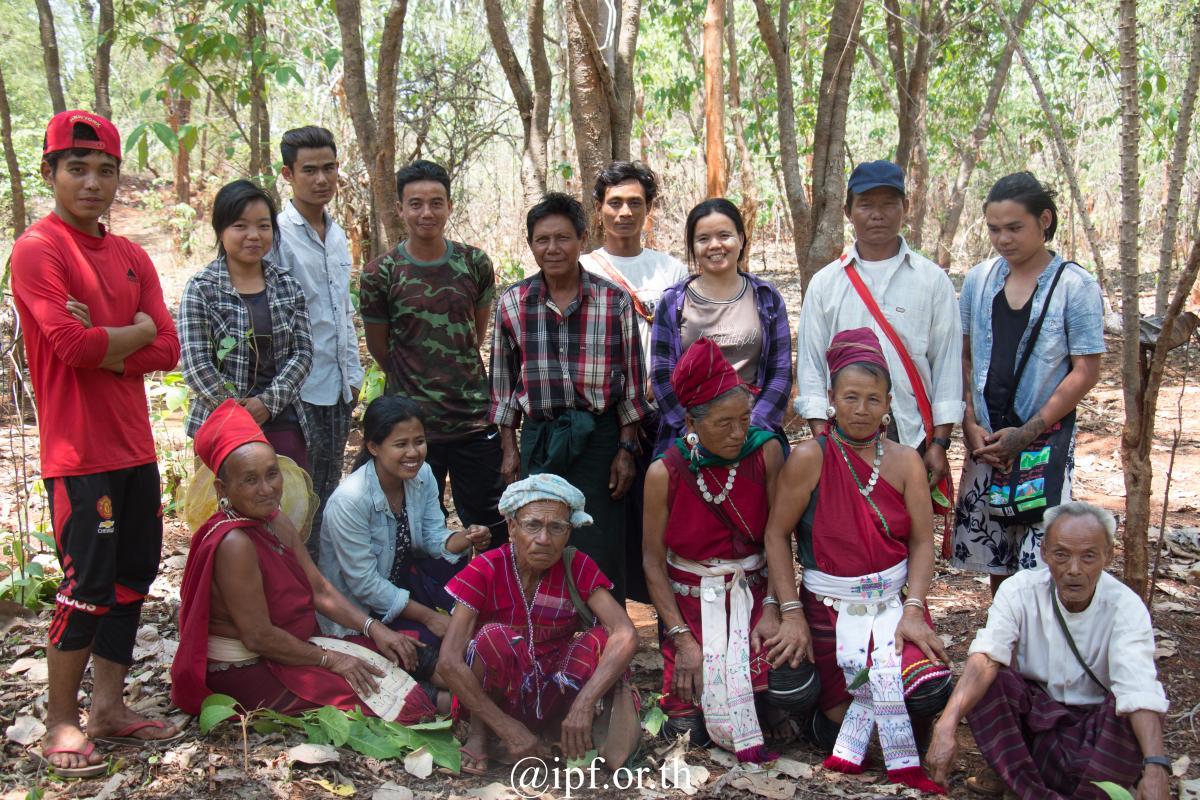 Villagers in Daw Tamakyi village.